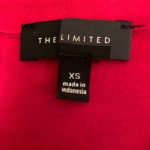 The Limited Tops - The Limited red sleeveless blouse